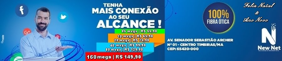 NEW NET COM NOVOS PLANOS