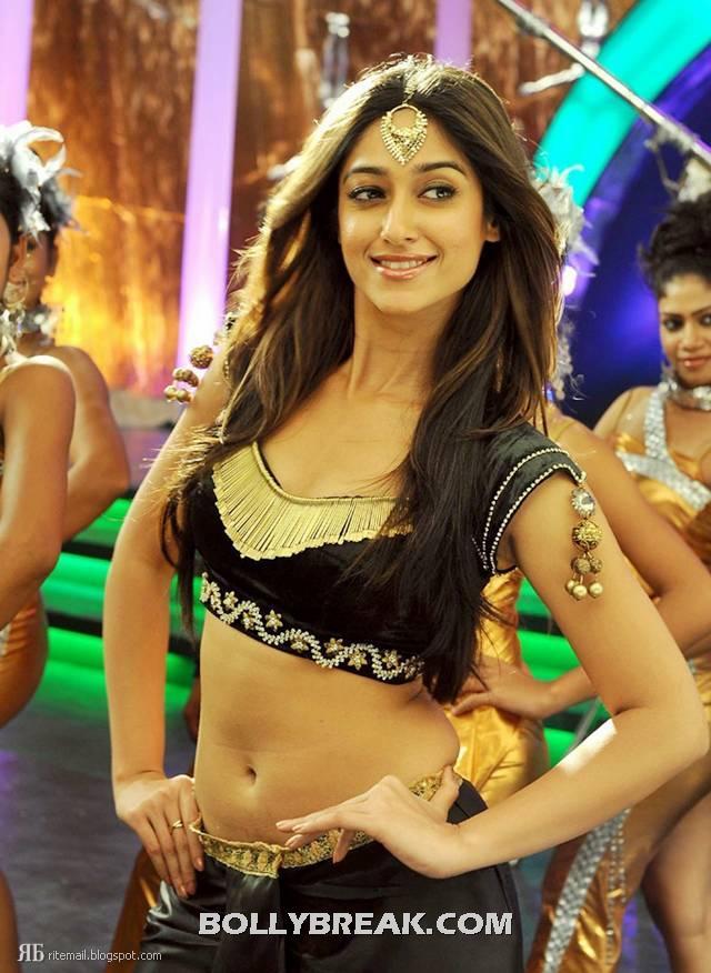 , Ileana In Shakti Movie - Hot Navel Pics
