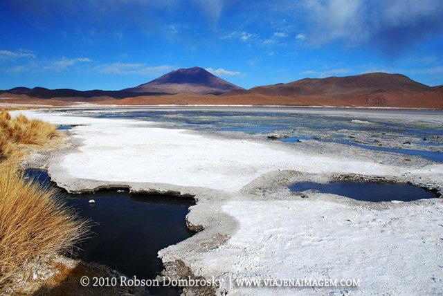 laguna hedionda em sud lipez bolivia