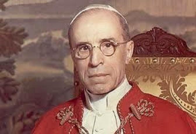 SEDE VACANTE! Papst Pius XII., der bisher letzte - rechtmäßige Papst - starb am 09. Oktober 1958 !