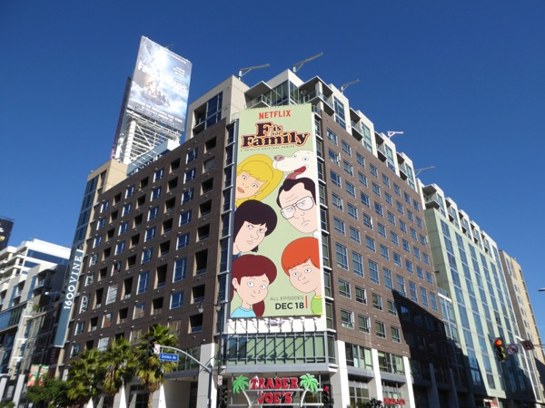 F is for Family season 1 billboard