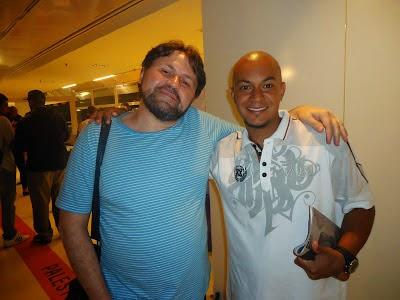 Hugo Paz e Marcelino Freire