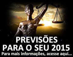FAÇA SUAS PREVISÕES PARA O ANO DE 2015