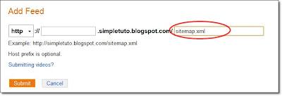Sitemap Bing