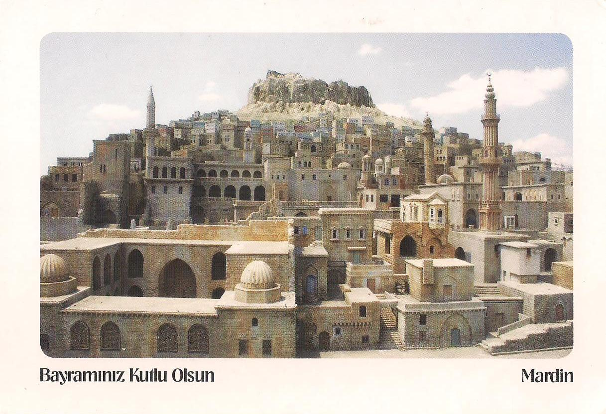 More POSTCARDS Amp STAMPS TURKEY Mardin Cultural Landscape