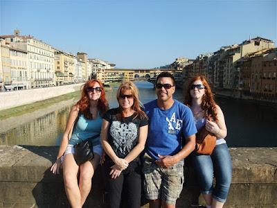 river, florence, ponte vecchio bridge