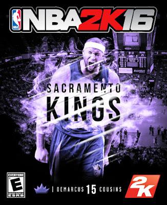 NBA 2K16 Custom Covers - Sacramento Kings