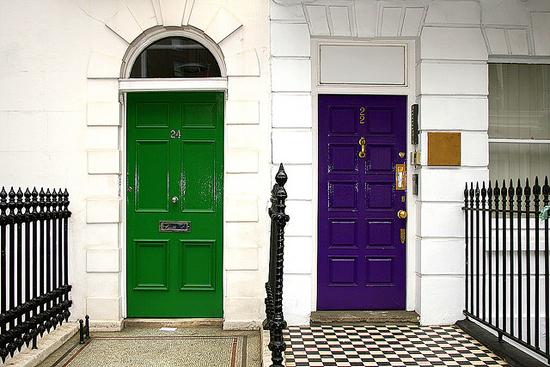 Baker Street, London Door