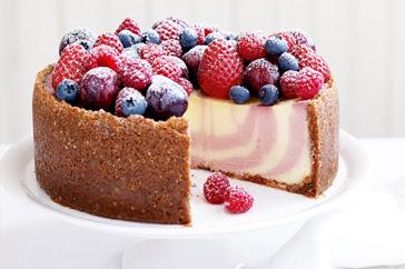 Summer Berry Cheesecake Recipe