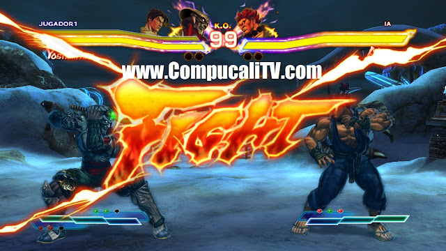 Capturas Street Fighter X Tekken PC Full
