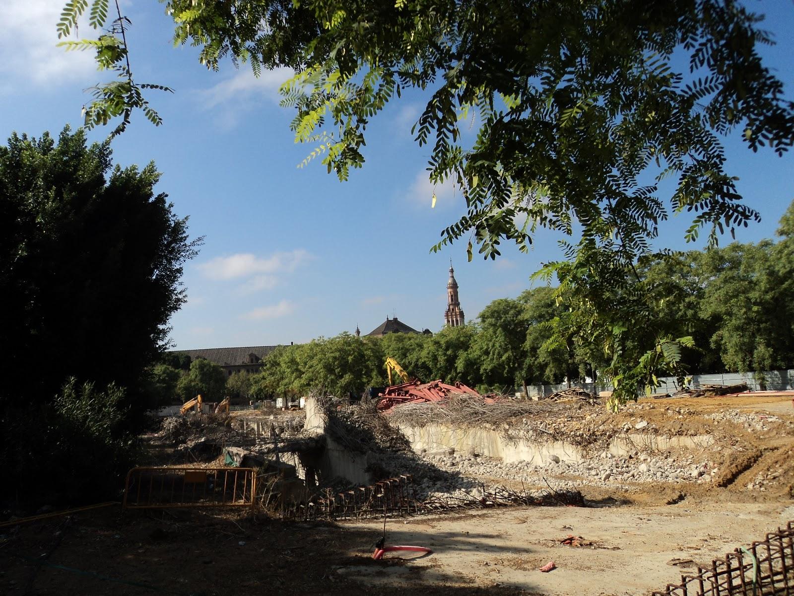 Cultura de sevilla el ayuntamiento redise a los jardines for Jardines del prado