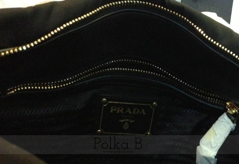 Prada Tessuto Nylon + Soft Calf Leather Top Handle Bag BN1903 ...