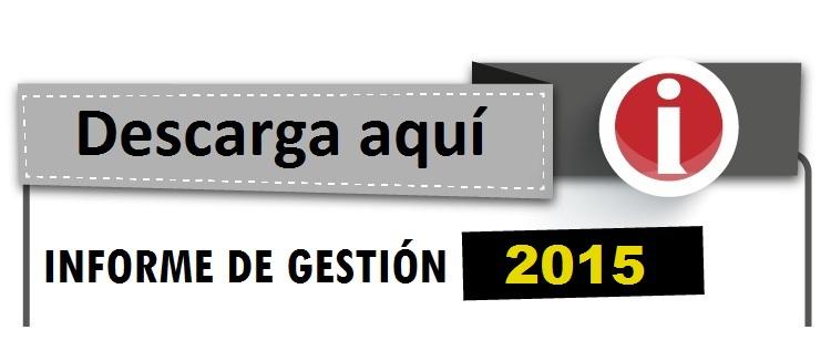 Informe de Gestión Arauca 2015