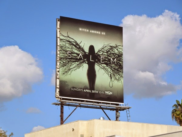 Salem series premiere billboard
