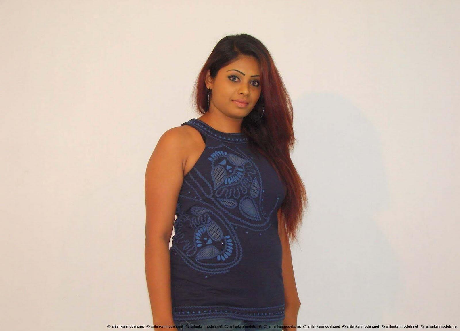 Sri Lankan upcoming Model Wijayanthi Madubashini's image collection ...