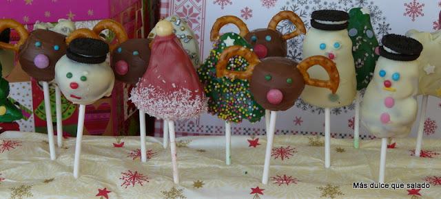 Cake Pops Navideños
