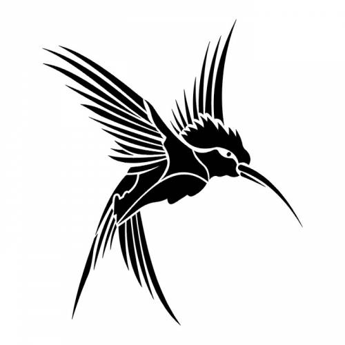 tattoos of humming bird black grey hummingbird tattoos. Black Bedroom Furniture Sets. Home Design Ideas