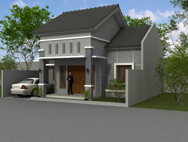 Desain Eksterior Rumah Saudara Cahyo di Boyolali