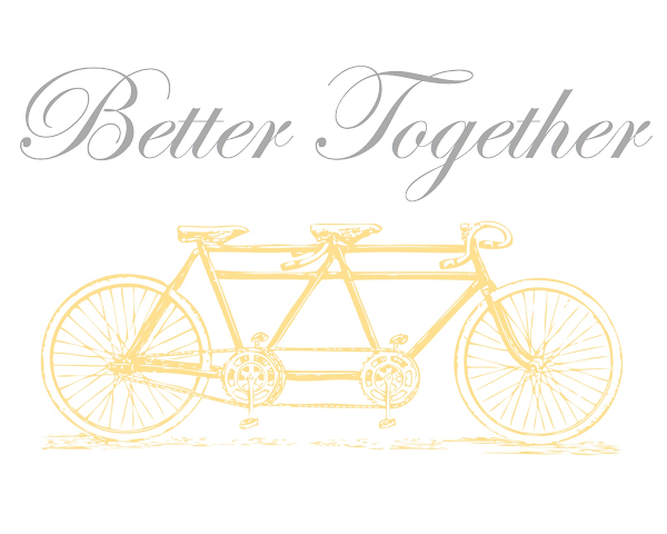 Better Together {Wedding Printable} @ Blissful Roots