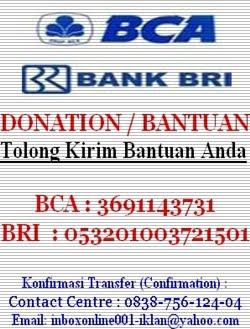 KIRIM BANTUAN (DONATION)