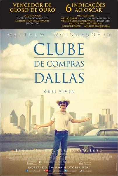 """Poster do filme """"Clube de Compras Dallas"""""""