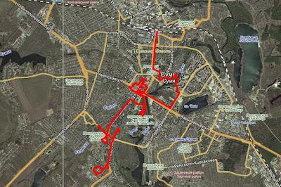 Карта Сумы