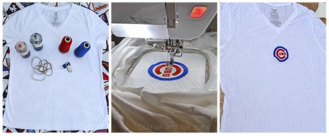 Cubs Tie Dye Shirt Diana Rambles