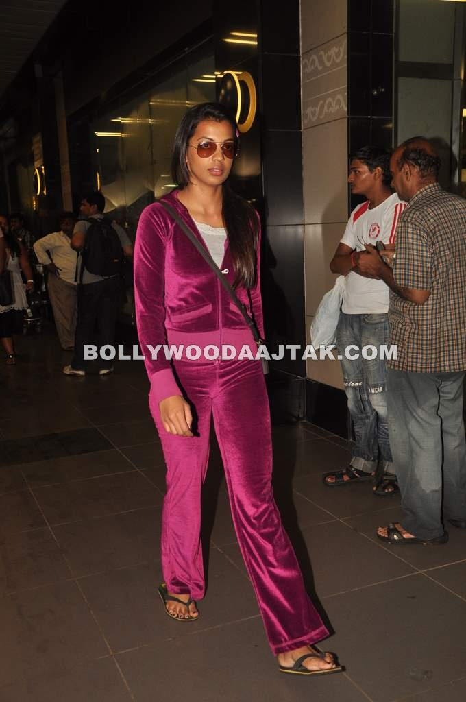 Mugdha Godse snapped at Airport