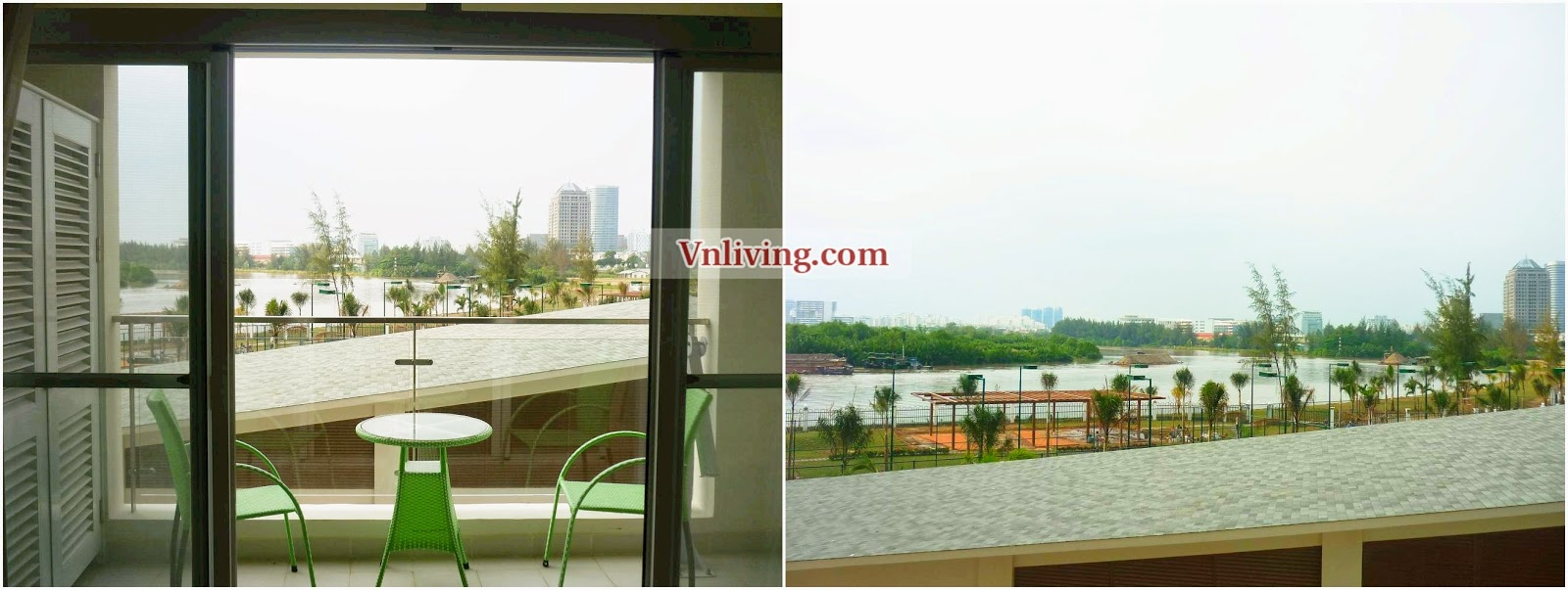 Riverside Residence for rent apartment river view