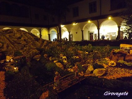 presepe artistico San Romano Toscana