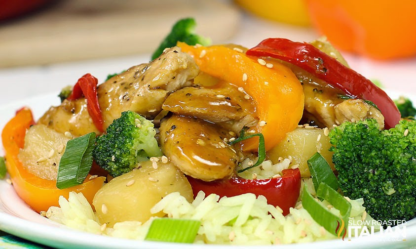 Pineapple Chicken Skillet With Broccoli in 30 Minutes