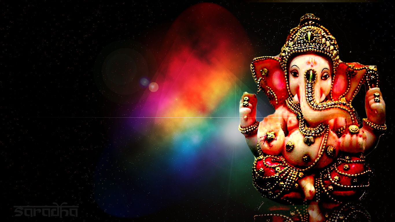 free download ganesh 1366 x 768 1023 kb png credited