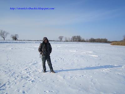 зимой на Тузлове