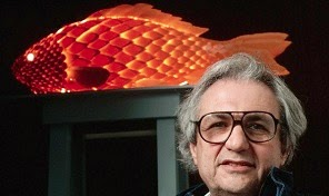 Frank Gehry, 1987 Fish Lamp.