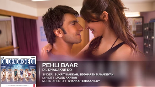 Pehli Baar Mp3 Song and Mp4 Video Download - Dil Dhadakne Do