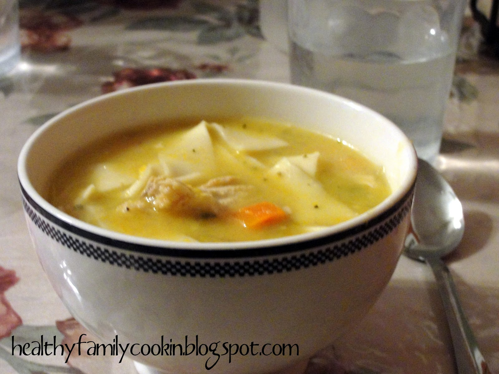 Chicken soup recipe dishmaps for Electric pressure cooker fish recipes