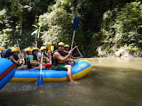 the rafting trip continued after stop