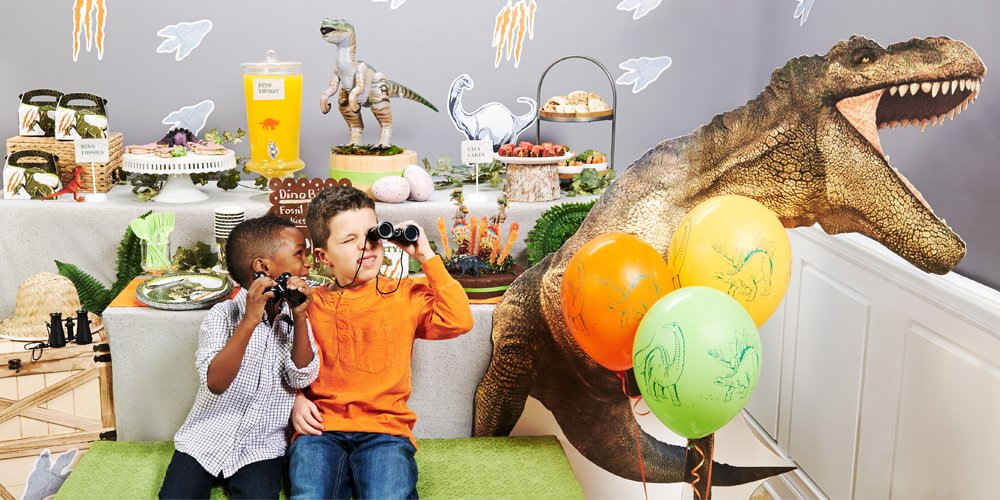Jurassic World Birthday Party Ideas