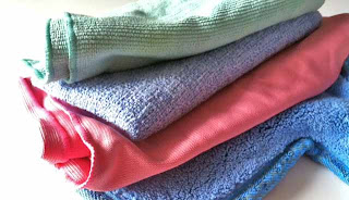 microfiber cleaning natural