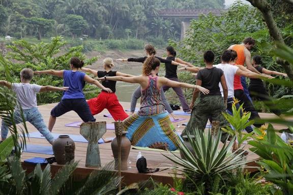 Yoga Classes at Utopia Luang Prabang