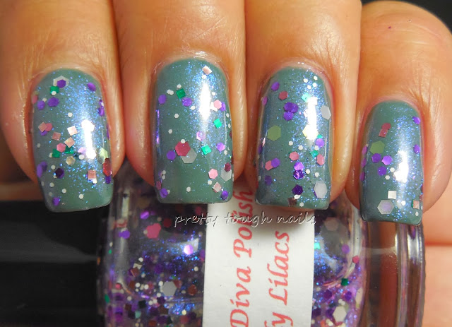 Darling Diva Lovely Lilacs Over Essie Vested Interest