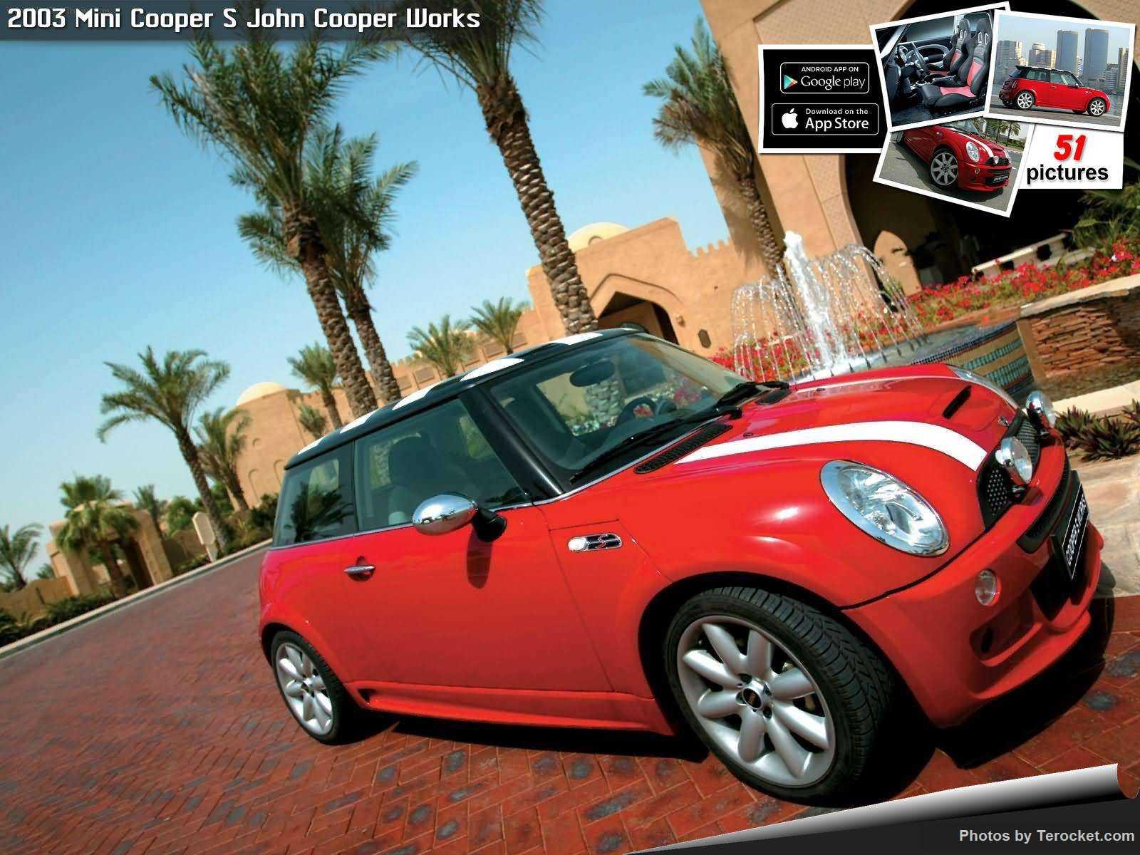 Hình ảnh xe ô tô Mini Cooper S John Cooper Works 2003 & nội ngoại thất