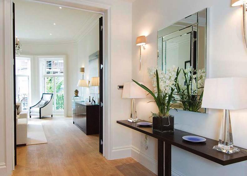 Hall de entrada casa design minimalista for Casa design