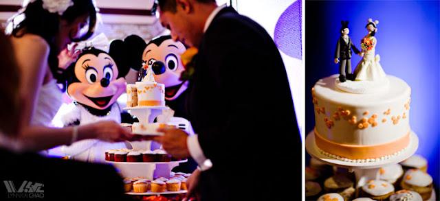 Disneyland Wedding Grand Californian Hotel Mickey and Minnie Trillium Room