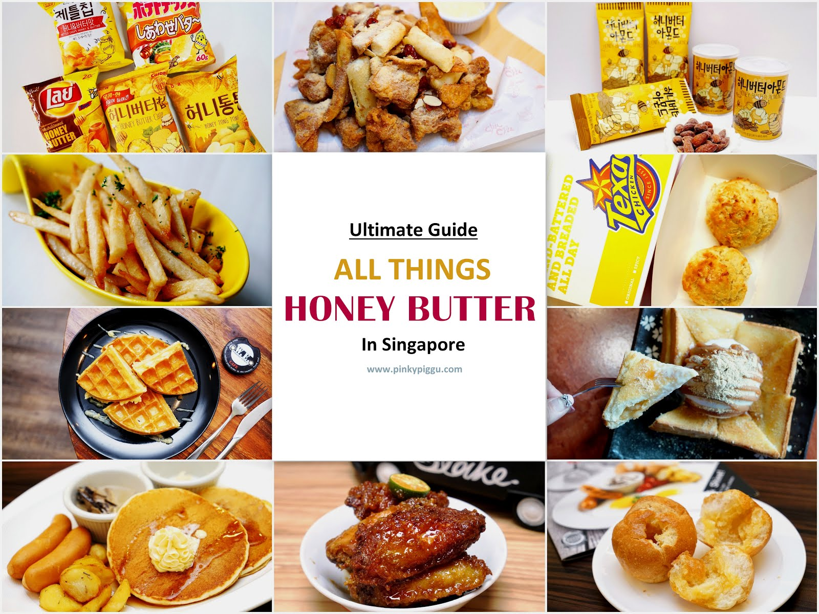 Ultimate Guide To All Things HONEY BUTTER In Singapore!