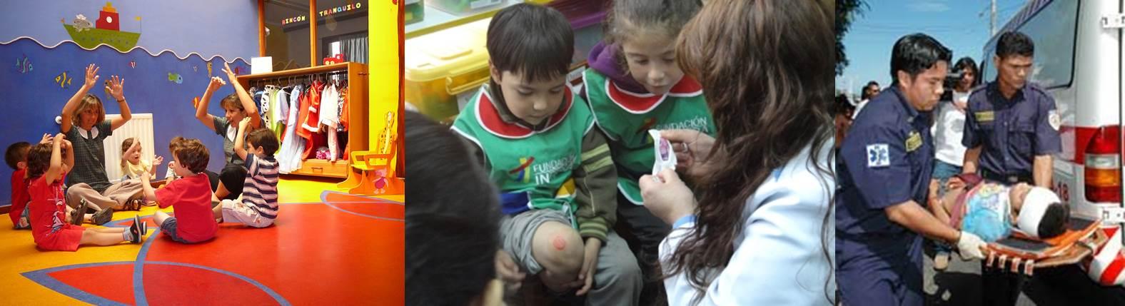 Prevenci n de riesgos en chile jardines infantiles for Jardines terapeuticos en hospitales