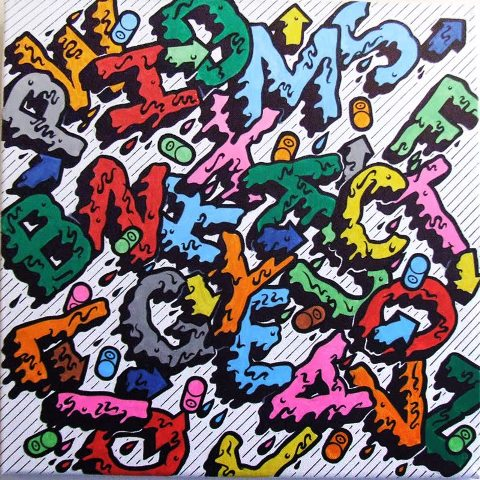 Graffiti Soul Colorful Graffiti Tag Alphabets A Z