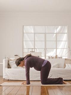 Ejercicios de pilates en el embarazo, Ejercicios del Tercer Trimestre,