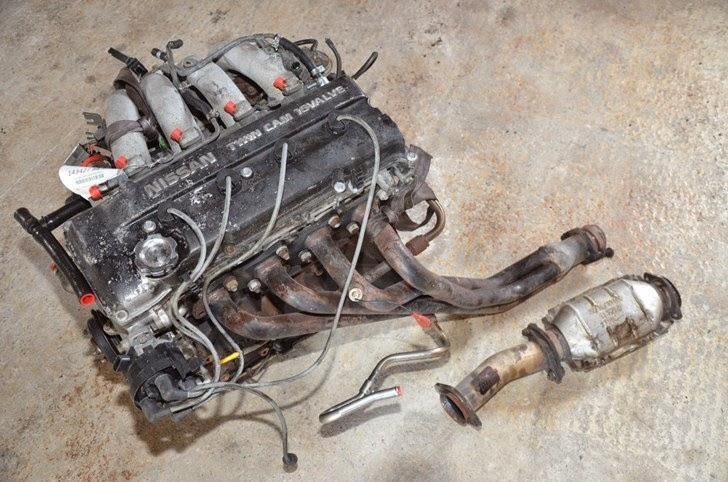1991 nissan 240sx 2 4l ka24de complete engine ka24de for for Nissan 240sx motor for sale