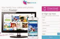 KinCentral: permite compartir fotos y videos con familiares y amigos en forma privada